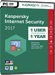 Kaspersky Internet Security 2017 (1 Usuario / 1 A�o)